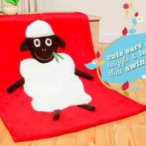 Sheep Snuggle Blanket