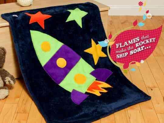 Rocketship Snuggle Blanket - 1890976 726726760679453 1429577244 n