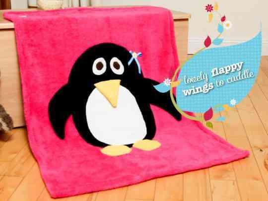 Penguin Snuggle Blanket - 1901723 726726814012781 514400946 n