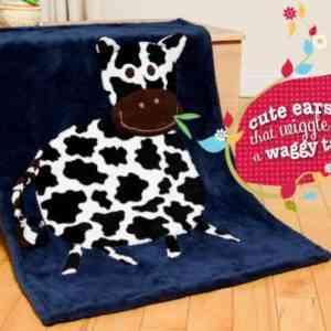 Personalised Cow Snuggle Blanket