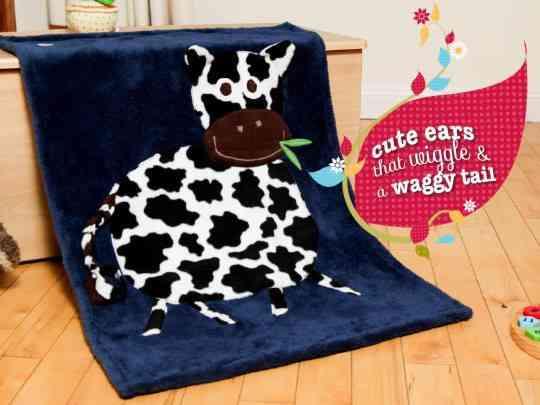 Personalised Cow Snuggle Blanket - 27336517 1800690166616435 5645519579719926986 n