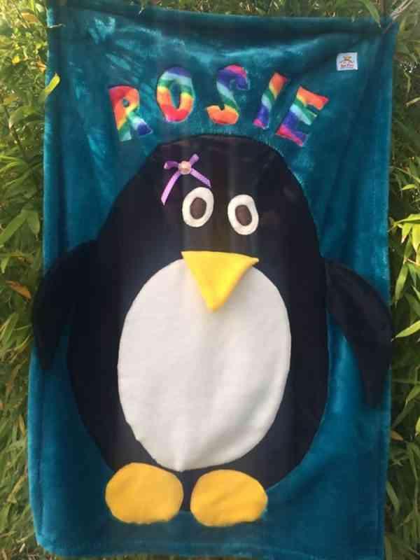 Penguin Snuggle Blanket - 39939185 2123258754374859 2759440522593435648 n