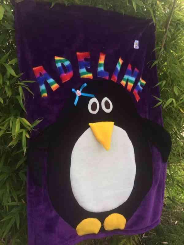 Penguin Snuggle Blanket - 40366745 2132132506820817 1123515680302301184 n