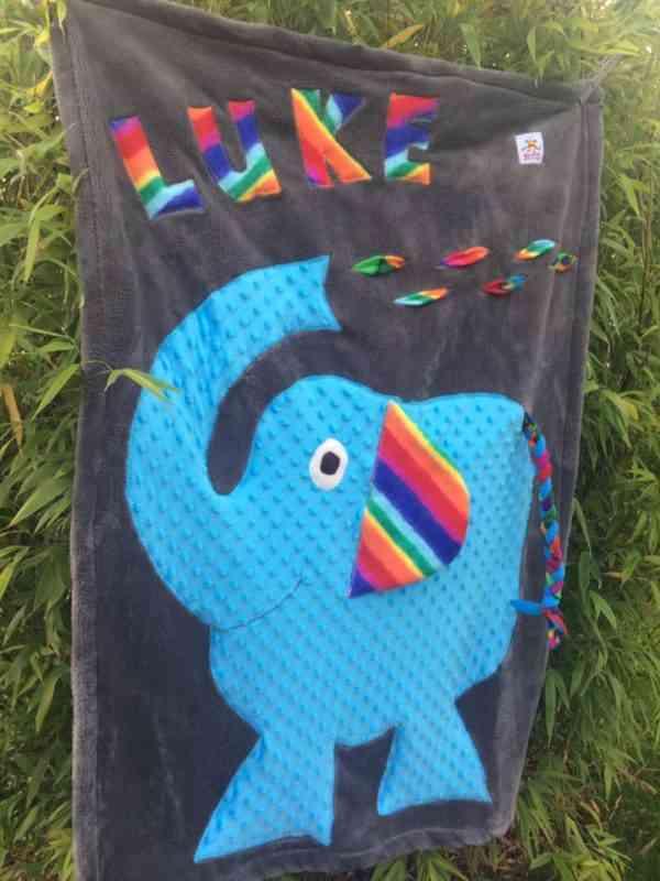 Elephant Snuggle Blanket - 46471869 2241056965928370 8515954879838027776 n