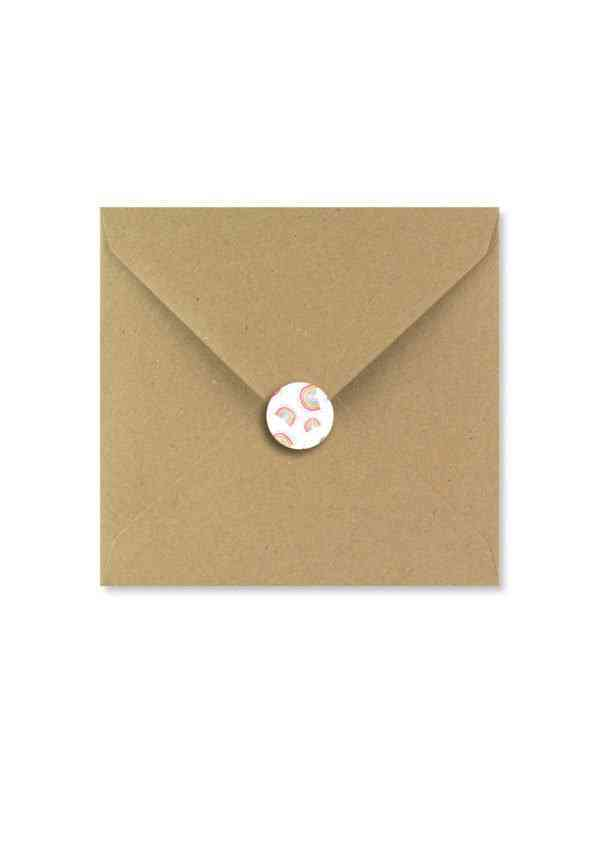 Rainbow card - CARD ENVELOPES 01
