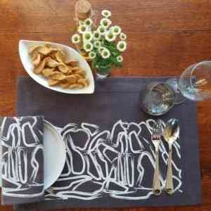 Land Art Homeware - Drystone Wall Napkin