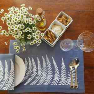 Land Art Homeware - Fern Placemat