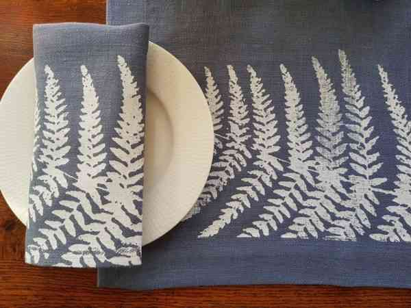 Land Art Homeware - Fern Placemat - FERN LANDART BASIC