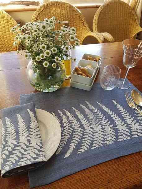 Land Art Homeware - Fern Napkin - FERN LANDART VISTA 2