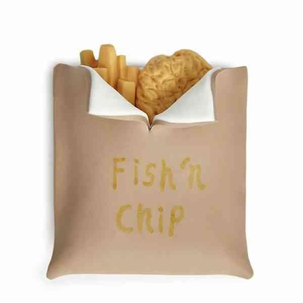 Fish & Chips Fridge Magnet - Fish and Chips Fridge Magnet