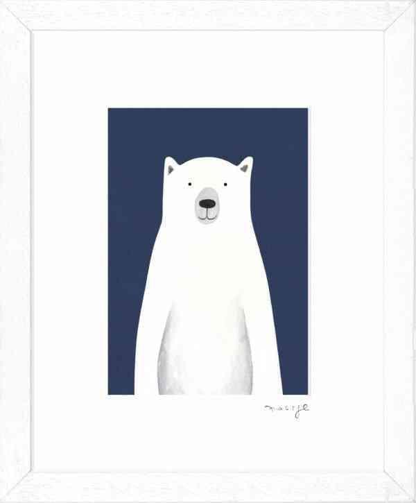 """'Pól' framed giclee print 8 x 10"""" -"""