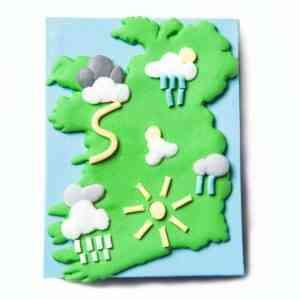 Irish Weather Fridge Magnet