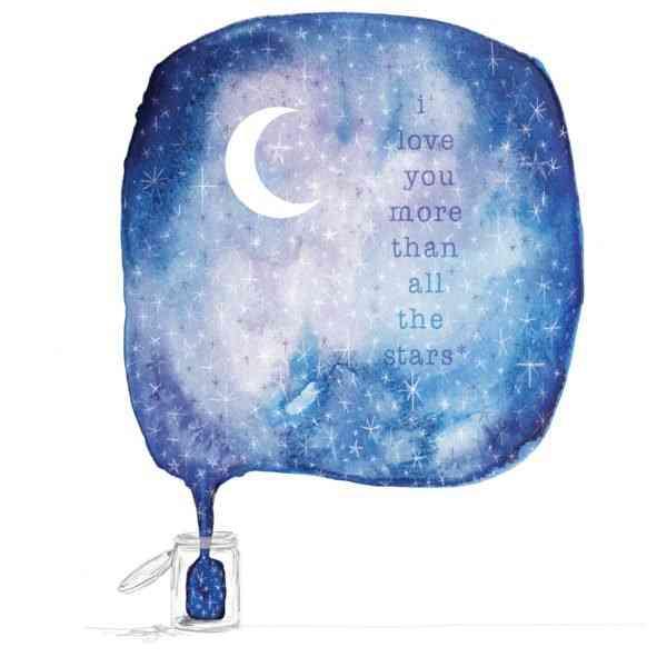 'Jar of Stars' Art print - JAR OF STARS 3