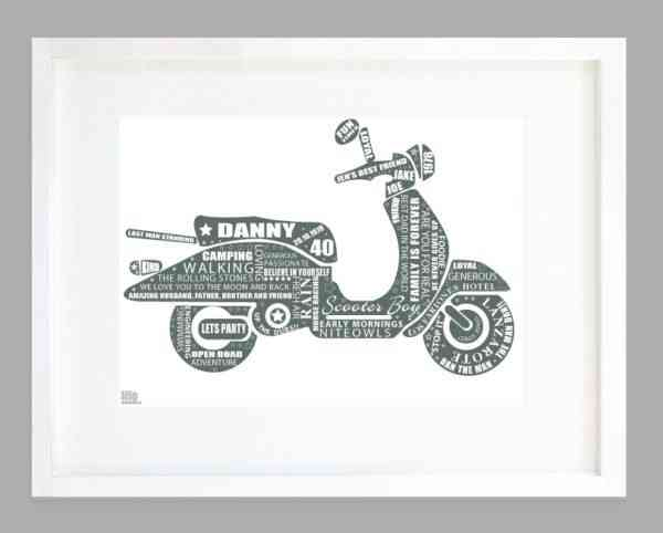 Scooter Kid Print - SCOOTER KID