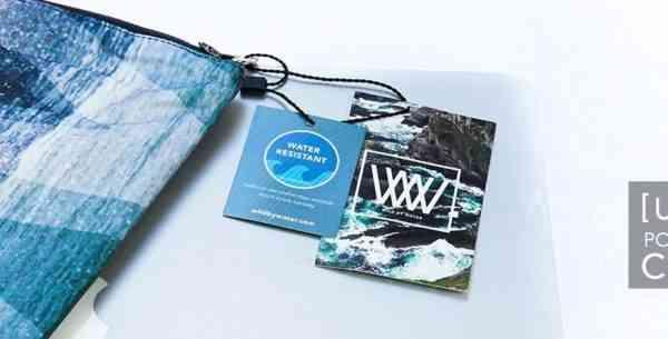 WBW 800 [UA] Folio / Seashore wave Graphic - UA folio tags