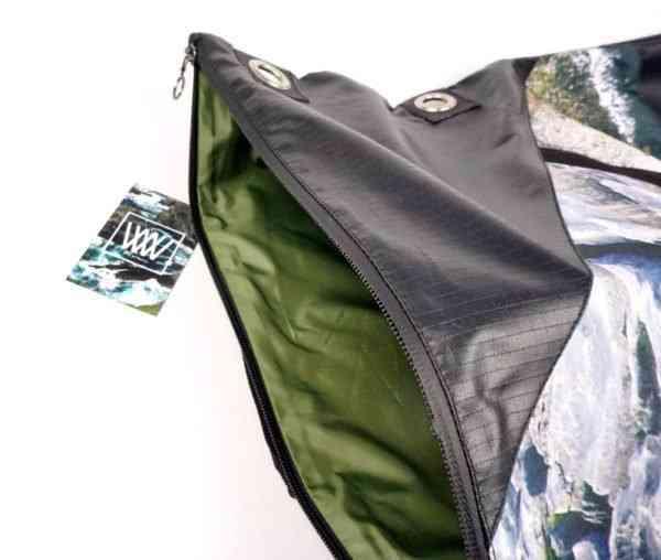 WBW 1000 [UA] Messenger Bag / Flaggy Shore - WBW 1000 FS Interior
