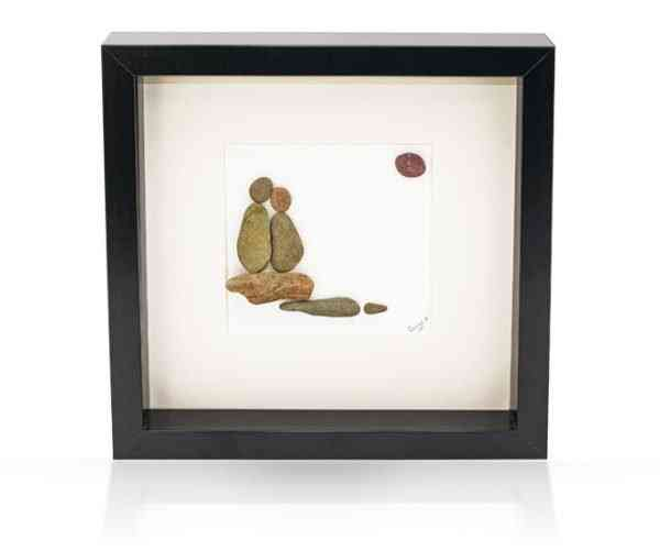 Young Love - Irish Pebble Art - Young Love 1