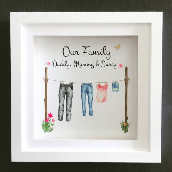 Family Clothes Line - family clothes line 2