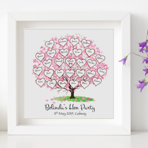Personalised Hen Party Frame
