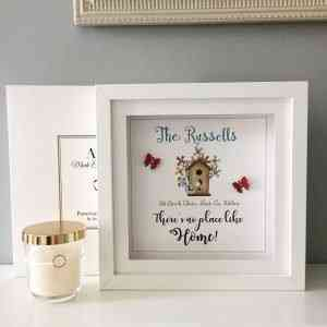 New Home personalised frame
