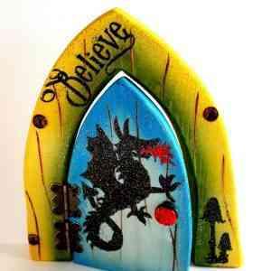 Fairy Door - Enchanted Dragon