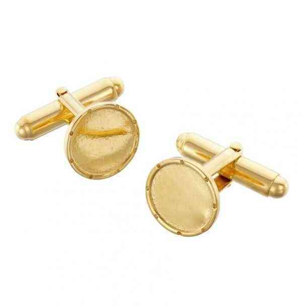 I Am Dreaming Cufflinks - Gold - i am dreaming cufflink gold