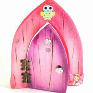 Fairy Door - Purple and Pink