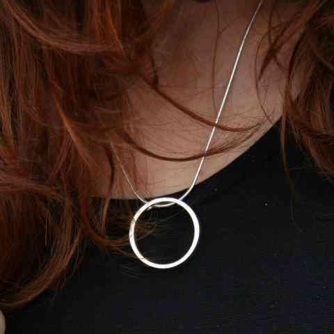 I Am Dreaming Medium Pendant - Silver - silver i am dreaming