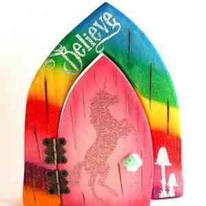 Fairy Door - Enchanted Unicorn