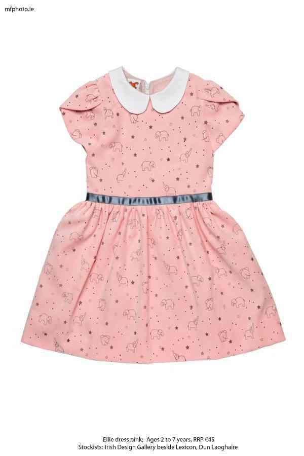 Ellie Party dress pink