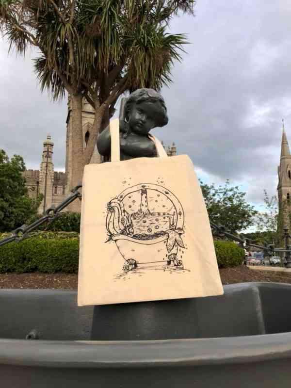 Natural Cotton Printed Tote Bag - 38019140 10156821903872638 2470743253431877632 n
