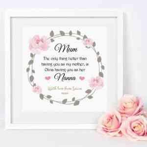 Mum/Nanna Frame