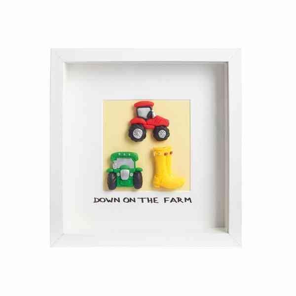 Down On The Farm - Framed Irish Gift - CH Photography  0 13