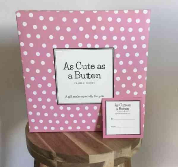 Baby Clock Print for Girl - girlpackage