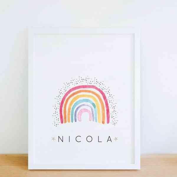 rainbow print 1