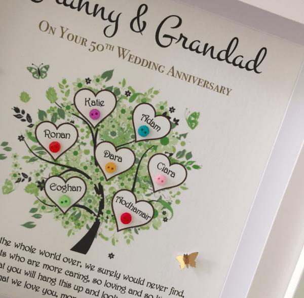 Dad/Grandad Family Tree - granny and grandad 2