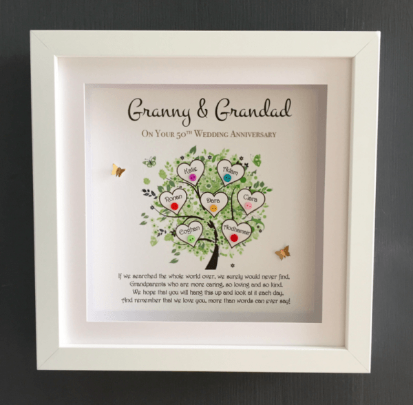 Dad/Grandad Family Tree - granny and grandad