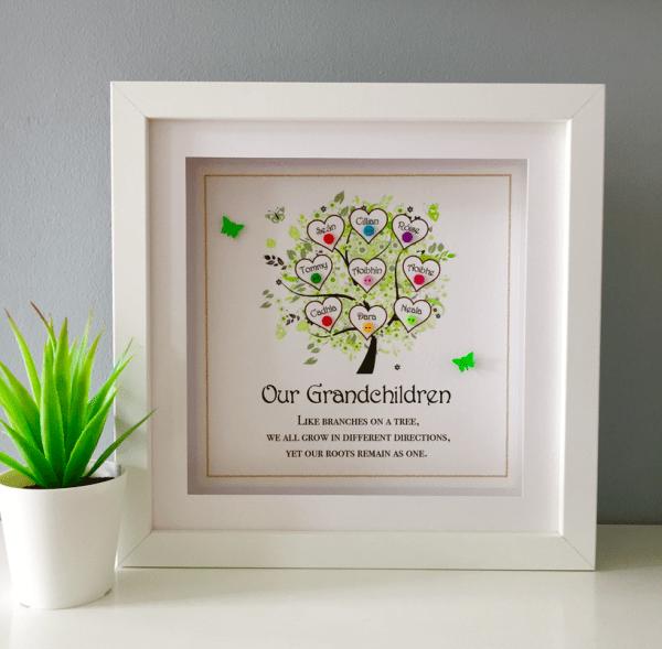 Dad/Grandad Family Tree - our grandchildren