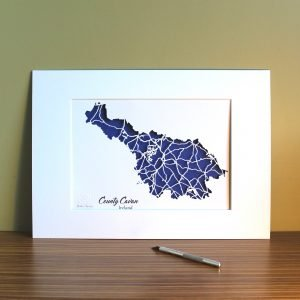 Co Cavan map unframed