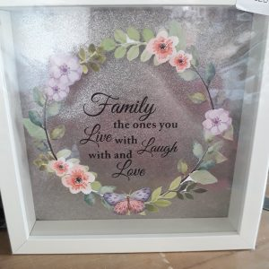 family frame new home gift birthday crafty gifts by jen