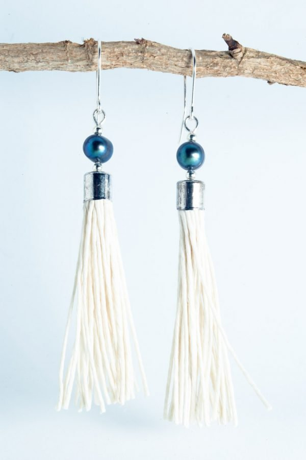 Water Pearl Tassel Earrings - Blua Water Pearl Earrings Ertisun Jewellery 2 600x901 1