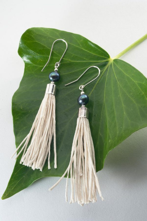 Water Pearl Tassel Earrings - Blua Water Pearl Earrings Ertisun Jewellery 5 600x901 1