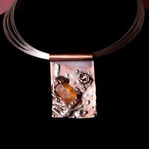Copper Treasure Necklace