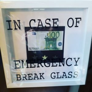 'In Case of an Emergency' Frame
