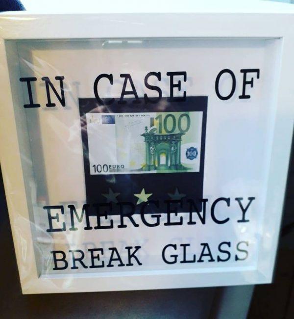 'In Case of an Emergency' Frame