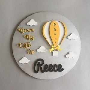 Dream Big Little One wall plaque