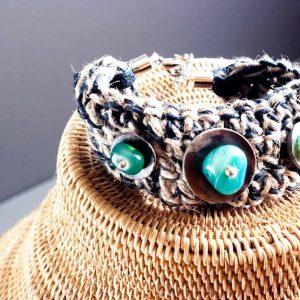 handmade summer bracelet turquoise stone handmade jewellery