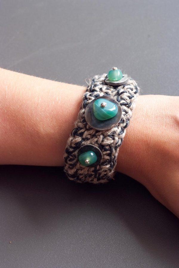 large bangle style bracelet ertisun