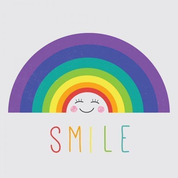 SMILE - Greeting Card - 02Rainbow