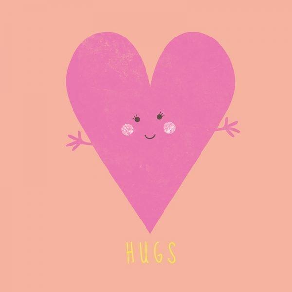 HUGS - Greeting Card